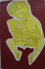 Self Portrait as seen by Schiele